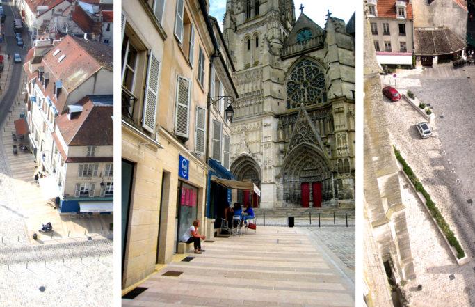 Parvis de cathédrale