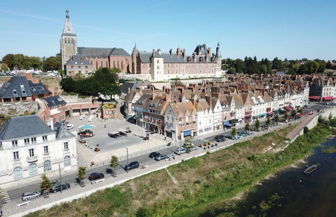 Les places de la Loire